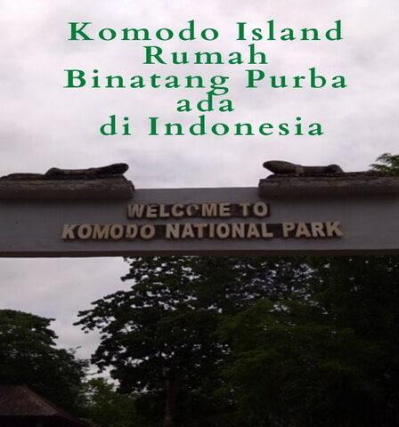 Komodo Island Rumah Binatang Purba ada di Indonesia