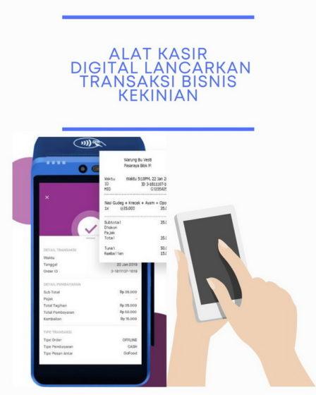 Alat Kasir Digital Lancarkan Transaksi Bisnis Kekinian