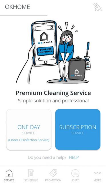 OKHOME Layanan Rumah Bersih