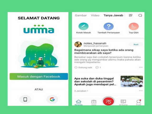 UMMA Aplikasi Pengetahuan