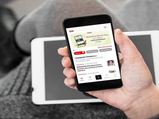 IDN App Sajian Artikel Berkualitas