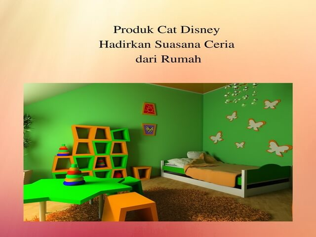 Produk Cat Disney Hadirkan Suasana Ceria dari Rumah
