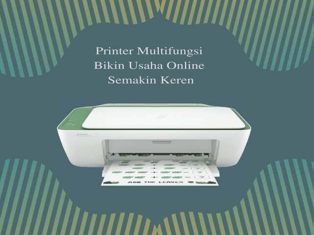 Printer Multifungsi Bikin Usaha Online Semakin Keren