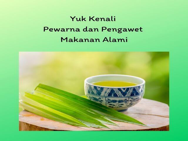 Yuk Kenali Pewarna dan Pengawet Makanan Alami